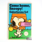 Come Home, Snoopy! Colorforms Set