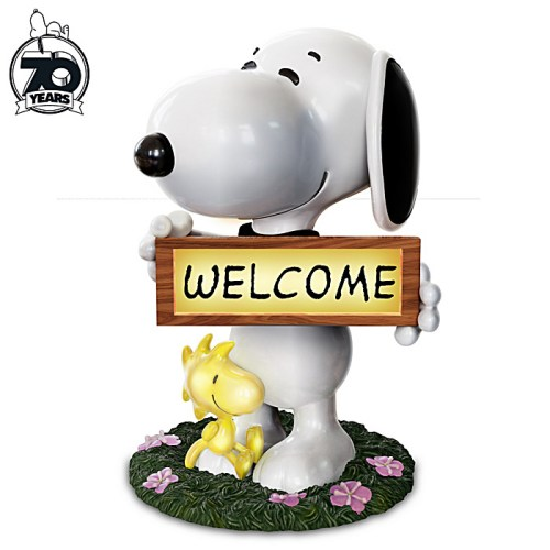 Snoopy Welcome Signs