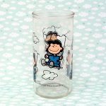 Lucy on Swing Jelly Jar Glass