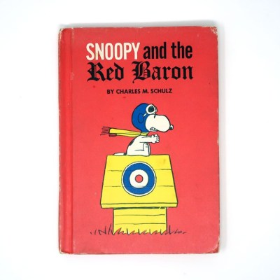 Snoopy and the Red Baron Book