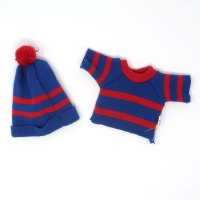 Snoopy Dress-Up Doll Sweater & Hat Outfit