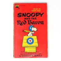 Snoopy and the Red Baron Paperback Book