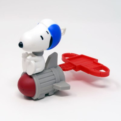 Astronaut Snoopy Happy Meal Toy