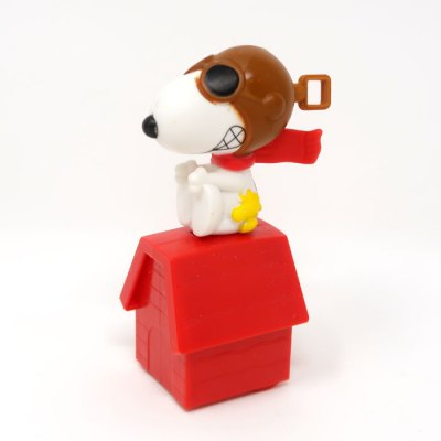 Pilot Snoopy Happy Meal Toy