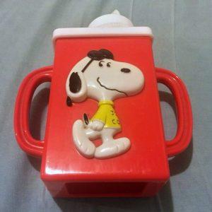 Snoopy Juice Box Holder