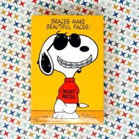 Snoopy Joe Cool 'Braces Make Beautiful Faces' Puzzle