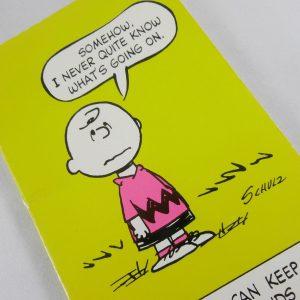 Peanuts Hallmark Postcards