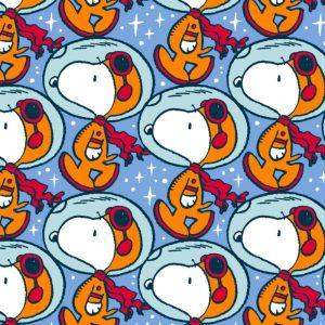 Joann Snoopy Fabric Print