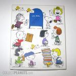Peanuts box of Stationery