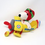 Snoopy Flying Ace in Plane Plush