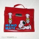 Snoopy Briefcase Memo Mate