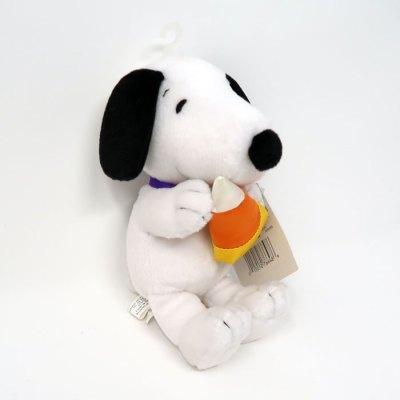 Candy Corn Snoopy Halloween Plush