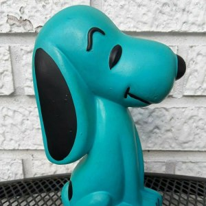 Blue Snoopy Bank