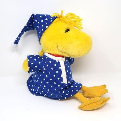 Woodstock Plush with Blue Pajamas