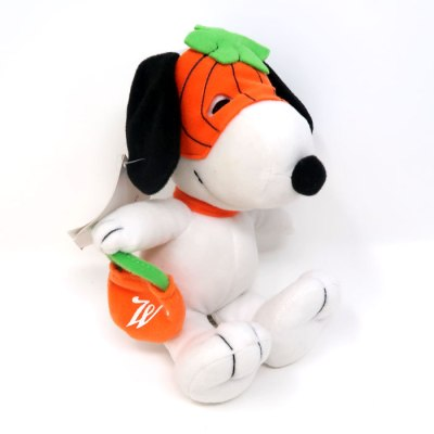 Snoopy Pumpkin Mask Halloween Plush with tag