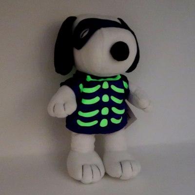 Glow-in-the-Dark Skeleton Snoopy Halloween Plush