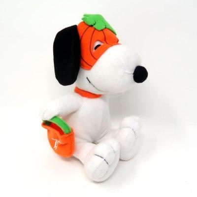 Snoopy Pumpkin Mask Halloween Plush