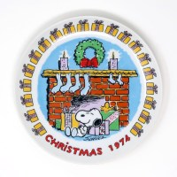 Snoopy 1974 Christmas Plate