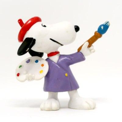 Artist Snoopy PVC Figurine