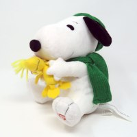 Christmas Snoopy & Woodstock Animated Plush