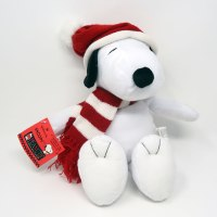 Snoopy in Hat & Scarf Plush Toy