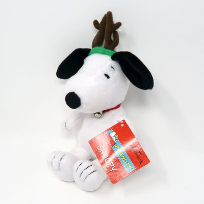 Snoopy Reindeer Christmas Plush