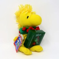 Woodstock with Wreath Christmas Plush
