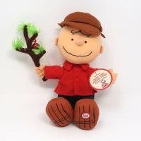 Charlie Brown with Tree Christmas Plush
