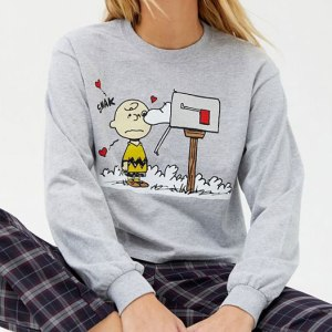Peanuts shirts at Urban Outfitters