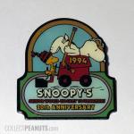 Snoopy and Woodstock on Zamboni 1994 Senior World Hockey Tournament Pin