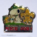 Snoopy Cub Scouts Pin
