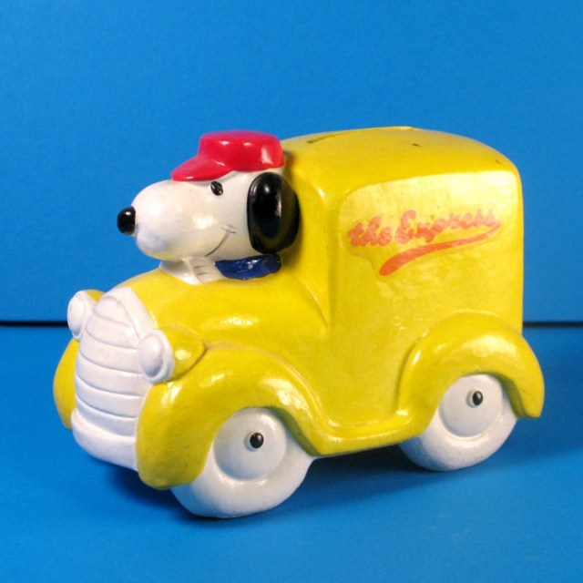 Snoopy Express Truck Bank