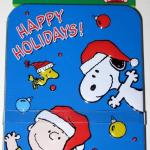 Snoopy, Woodstock & Charlie Brown 'Happy Holidays' Gift Card Tin