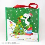 Snoopy and Woodstocks decorating Christmas tree Gift Bag