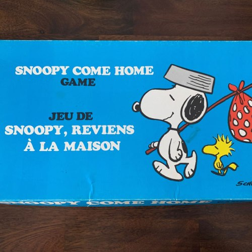 Bilingual Snoopy Come Home Game