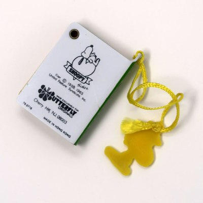 Snoopy and Woodstock Mini Telephone Book - Back