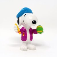 Snoopy Pink Easter Egg artist PVC Figurine