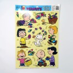Peanuts Easter Window Cling Sheet