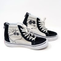 Snoopy Joe Cool and Woodstock Hi-top Shoes