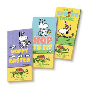 Peanuts chocolates from Russell Stover