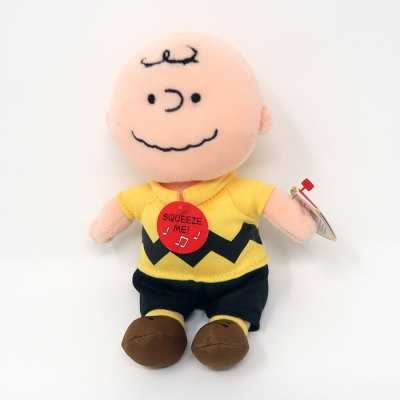 Charlie Brown Beanie Baby Plush