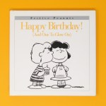 Happy Birthday Peanuts Book