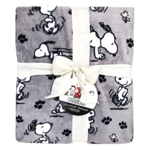 Snoopy Sheets & Berkshire Blankets from Amazon
