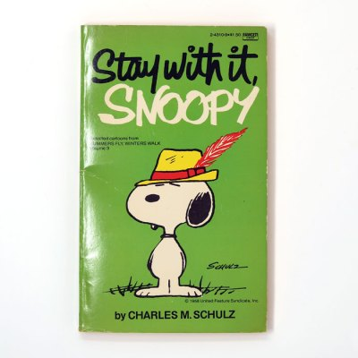 Stay with It, Snoopy Book