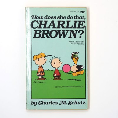 How Does She Do That, Charlie Brown Book