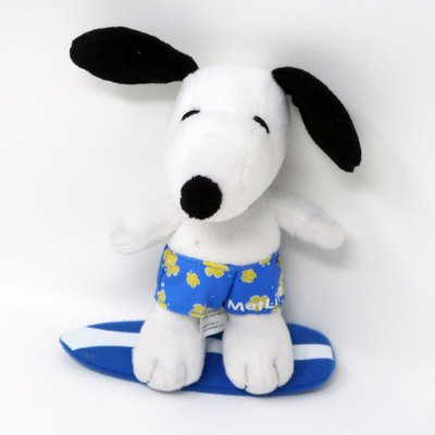 Snoopy Surfing Plush Toy