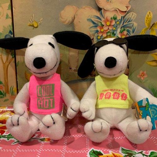 Joe Cool Plush Snoopy Dolls