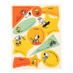 Snoopy and Woodstock Name Labels