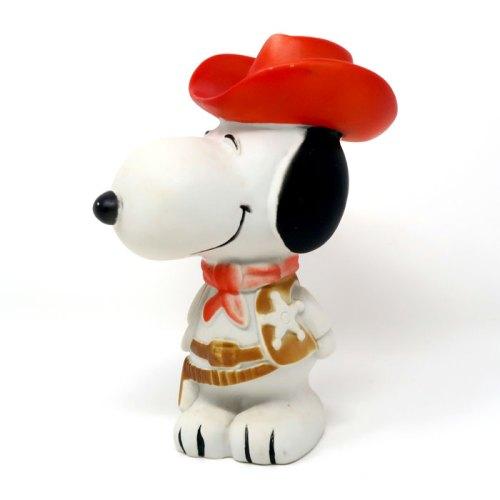 Cowboy Snoopy Squeaky Toy