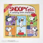 Snoopy Etc Catalog - Snoopy poses in squares